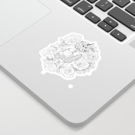 Thorns and Roses Sticker