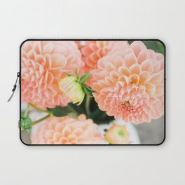 Coral Dahlias 03 Laptop Sleeve