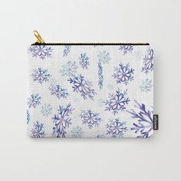 Snowflakes falling Carry-All Pouch