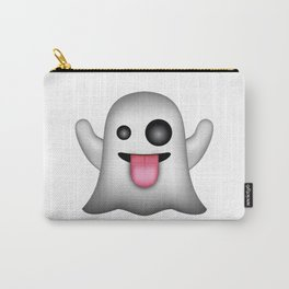 Ghost Emoji Carry-All Pouch