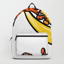 Armadillo Baseball Mascot Backpack