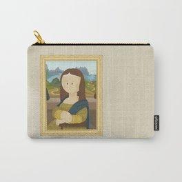 Gioconda by Leonardo Da Vinci Carry-All Pouch