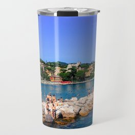 Lazy afternoon in Santa Margherita Travel Mug