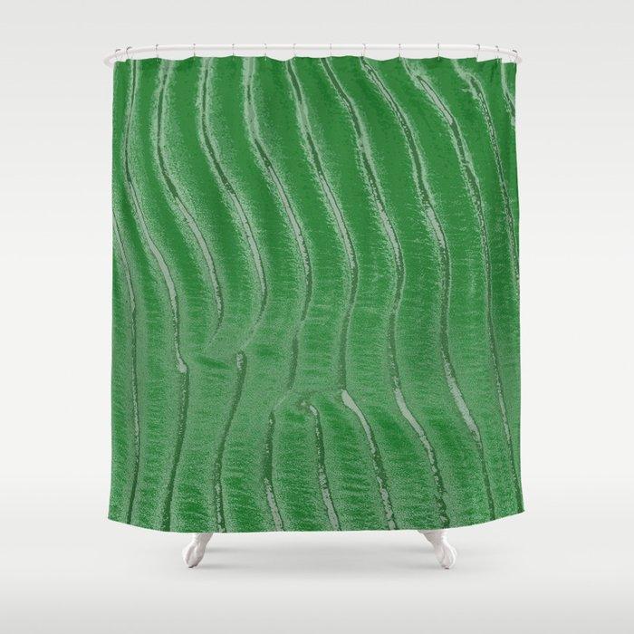 Green velvet Shower Curtain by damarisdesign | Society6