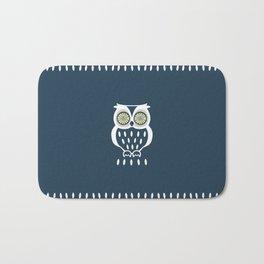 Bright Eyed Owl Bath Mat