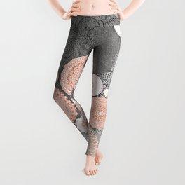 FESTIVAL FLOW BLUSH SUNSHINE Leggings