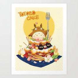 Ghibli Cake! Art Print
