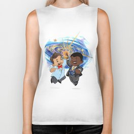 Science High Five Biker Tank
