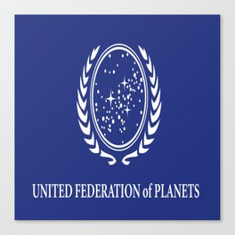 United Fed of Planets II Canvas Print