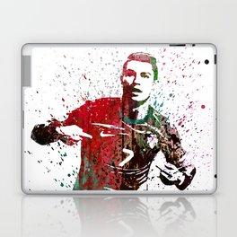 Cristiano Ronaldo #CristianoRonaldo art 2 Laptop & iPad Skin