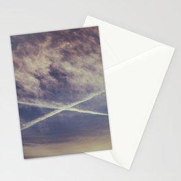 Sky cross Stationery Cards