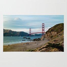 Golden Gate at Baker Beach Rug