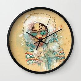 SNOW FASHION Wall Clock