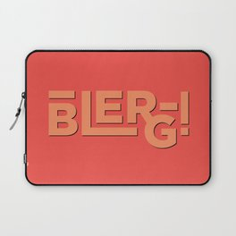 Blerg! An Ode to 30 Rock Laptop Sleeve