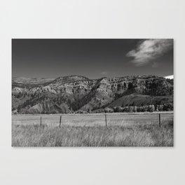 Prarie Mountain Canvas Print