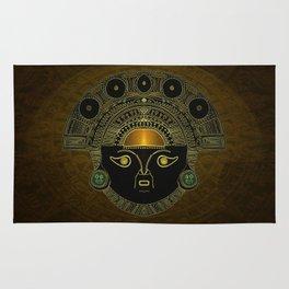 God Sun mask (INTI) Rug