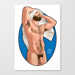 Sortie de bain (uncensored) Canvas Print