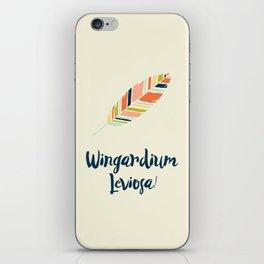 Wingardium leviosa! iPhone Skin