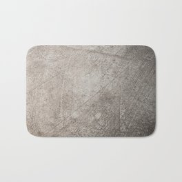 concrete texture and gold Bath Mat