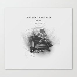 Anthony Bourdain RIP Canvas Print