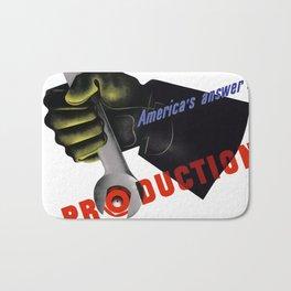 America's Answer! Production Bath Mat