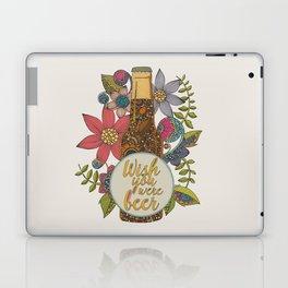 Wish you were beer Laptop & iPad Skin