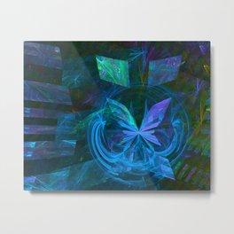 Schmetterling-Effekt Metal Print