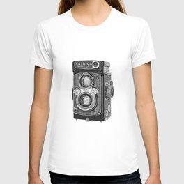 Yashica Vintage Camera T-shirt