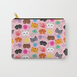 Cats Love String I Carry-All Pouch