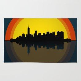 New York under the sun Rug