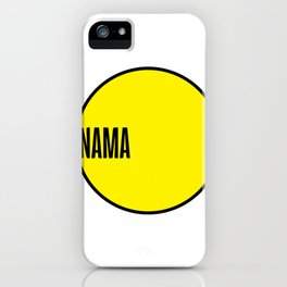NAMA Project iPhone Case