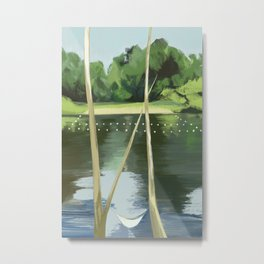 Lake Anza Metal Print
