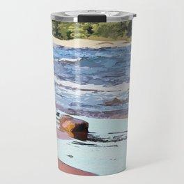 Lake Superior Bay Travel Mug