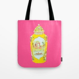 ROYAL WORCESTER PRINT PINK Tote Bag