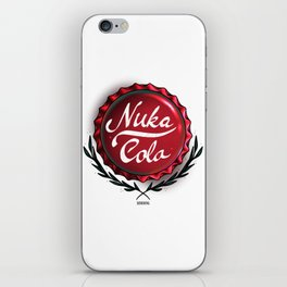 Nuka-Cola Bottlecap Fan Art Design iPhone Skin