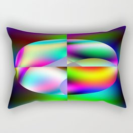 The Many Colors Of Space Rectangular Pillow