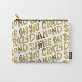 Shine On You Crazy Diamond – Gold Palette Carry-All Pouch