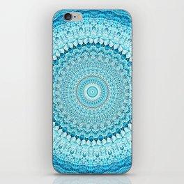 Coastal Spray Mandala iPhone Skin