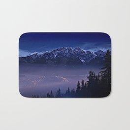 The Mountain's Dream Bath Mat