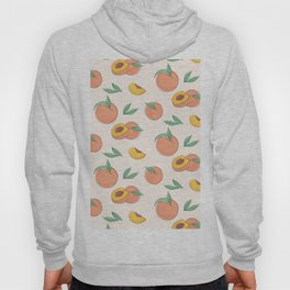 Peach with leaves Hoody