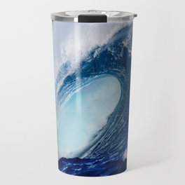Big Blue Wave Travel Mug