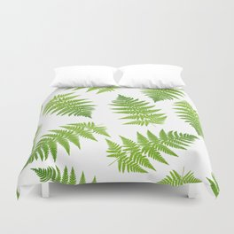 Fern seamless pattern. Duvet Cover