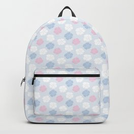 Hana Poppies II - Violet and Pink Backpack