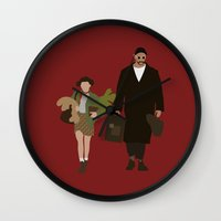 leon Wall Clocks featuring leon by Live It Up