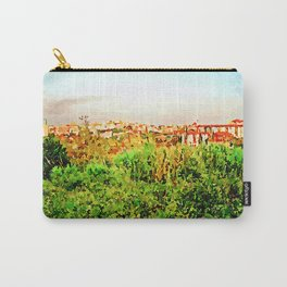 Catanzaro: green and buildings Carry-All Pouch