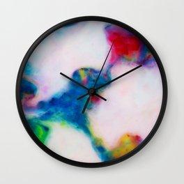 Ink lake Wall Clock