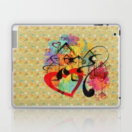 Liebe ist in der Luft - love is in the air Laptop & iPad Skin