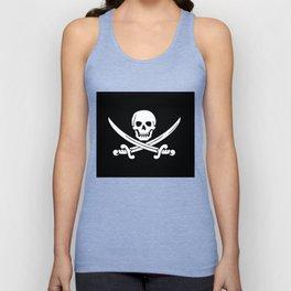Jolly Roger Pirate Unisex Tank Top