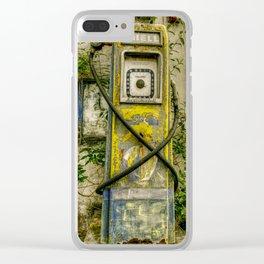 Avery Hardoll Petrol Pump Clear iPhone Case