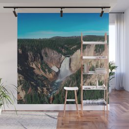 Yellowstone x Lower Falls Wall Mural